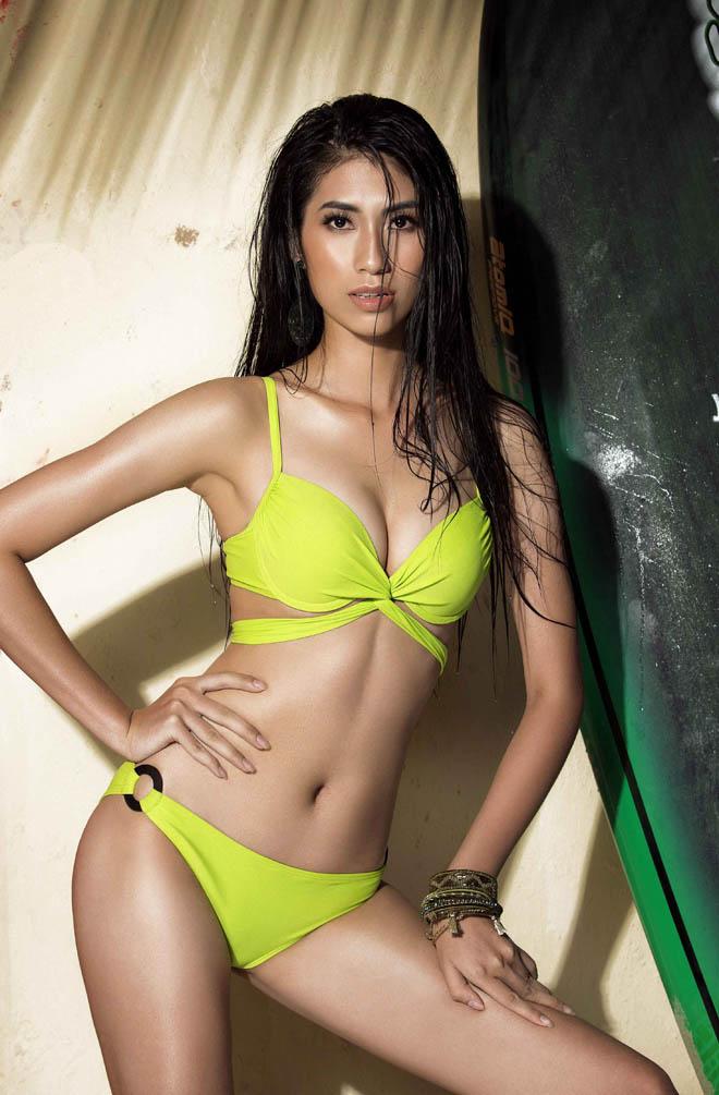 """Bộ ảnh áo tắm """"nóng rẫy tay"""" của top 45 Hoa hậu Hoàn vũ Việt Nam - 6"""