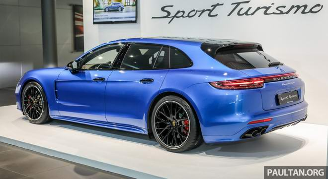 Ngắm Porsche Panamera Sport Turismo sắp về Việt Nam - 3