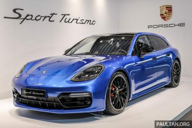 Ngắm Porsche Panamera Sport Turismo sắp về Việt Nam - 1
