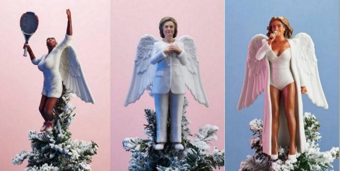 """Treo """"người nổi tiếng"""" lên cây thông Noel bằng sản phẩm in 3D có 1 không 2 - 1"""