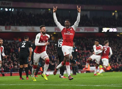 Chi tiết Arsenal - West Ham: Những phút cuối nhàn nhã (KT) 4