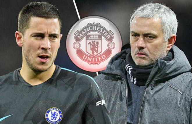 Chuyển nhượng MU: Mourinho tranh Hazard với Real Madrid 1
