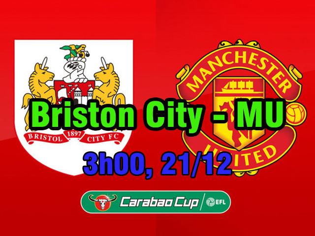 Chi tiết Bristol City - MU: Choáng váng phút cuối (KT) 25