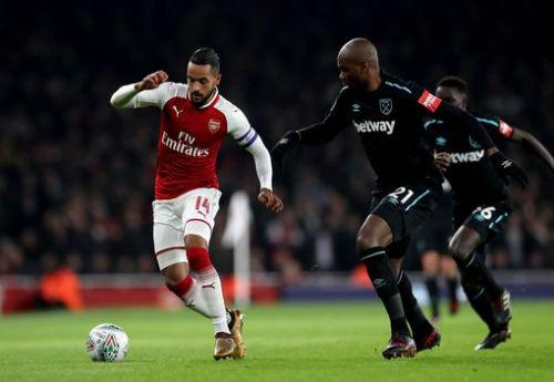 Chi tiết Arsenal - West Ham: Những phút cuối nhàn nhã (KT) 3