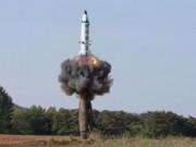 Thế giới - Triều Tiên thử nghiệm nạp virus bệnh than vào tên lửa?
