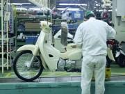 """Thế giới xe - Tận mắt huyền """"thoại"""" Honda Super Cub mới được sản xuất tại nhà máy"""