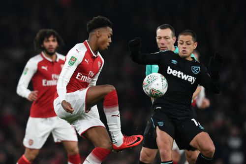 Chi tiết Arsenal - West Ham: Những phút cuối nhàn nhã (KT) 5