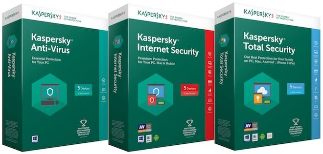 Nâng cấp miễn phí ngay Kaspersky Internet Security 2018