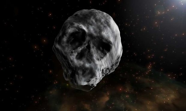 Tiểu hành tinh hình sọ người có thể tạo siêu sóng thần khủng khiếp