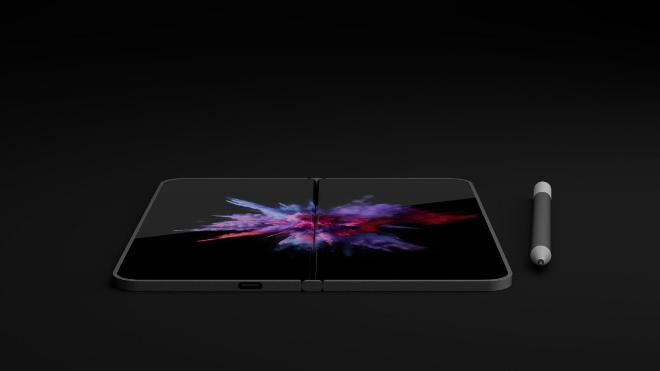 NÓNG: Xuất hiện điện thoại màn hình gấp như laptop - 4