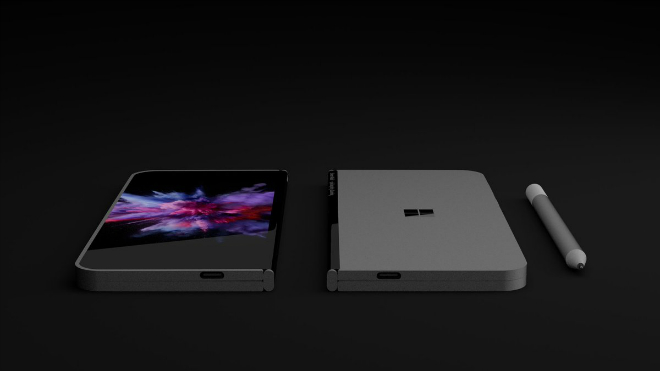 NÓNG: Xuất hiện điện thoại màn hình gấp như laptop - 3