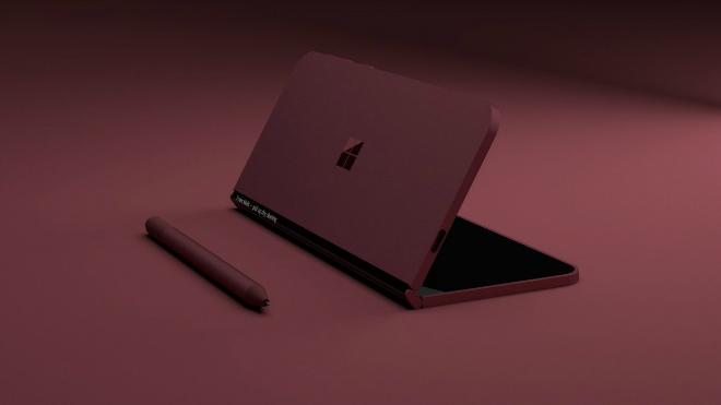 NÓNG: Xuất hiện điện thoại màn hình gấp như laptop - 6