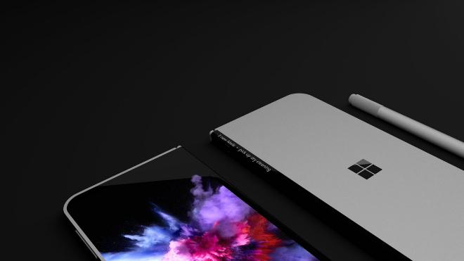 NÓNG: Xuất hiện điện thoại màn hình gấp như laptop - 2