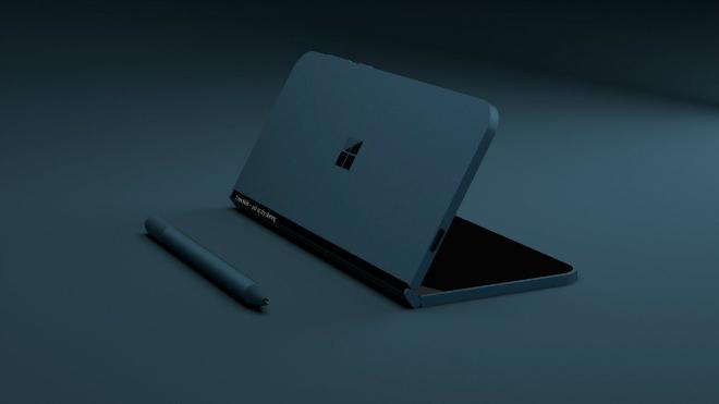 NÓNG: Xuất hiện điện thoại màn hình gấp như laptop - 7