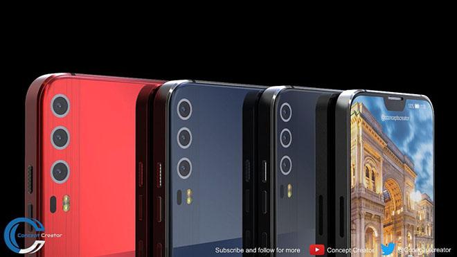 Ngắm concept Huawei P11 X với màn hình đẹp như iPhone X - 2