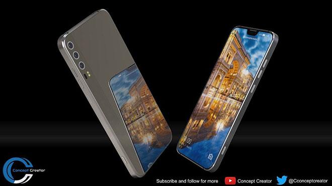 Ngắm concept Huawei P11 X với màn hình đẹp như iPhone X - 4