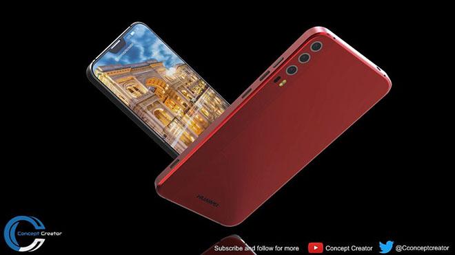 Ngắm concept Huawei P11 X với màn hình đẹp như iPhone X - 3