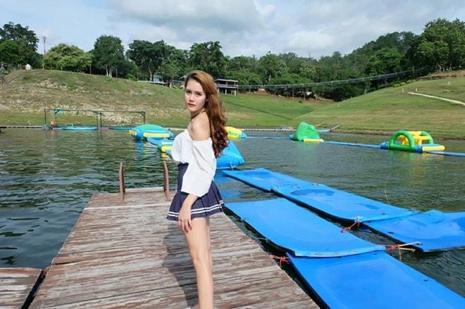 Vẻ đẹp thiên thần động lòng người của mẫu Thái Lan 19 tuổi vừa tự tử - 6
