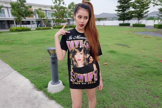 Vẻ đẹp thiên thần động lòng người của mẫu Thái Lan 19 tuổi vừa tự tử - 8