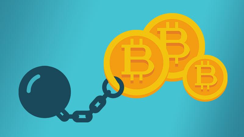 Gần một phần tư Bitcoin trên toàn cầu đang bị kẹt không lấy ra được