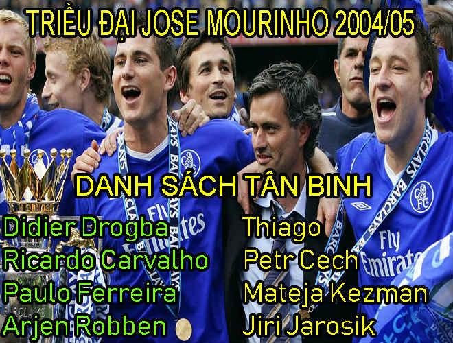 """Nhà vô địch vĩ đại nhất: """"Thiên tình sử"""" bất hủ Chelsea - Mourinho, 95 điểm độc bá 3"""