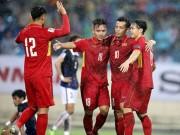 Bóng đá - Bảng xếp hạng FIFA tháng 12: Việt Nam số 1 Đông Nam Á, hơn Thái Lan 18 bậc