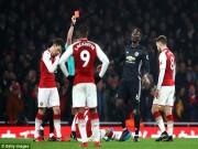 Bóng đá - MU, Pogba lại đạp người: Thoát thẻ đỏ nhưng nguy cơ treo giò 5 trận
