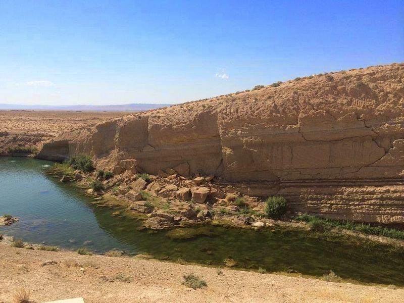 Hồ bí ẩn xuất hiện giữa sa mạc chỉ sau một đêm - 3