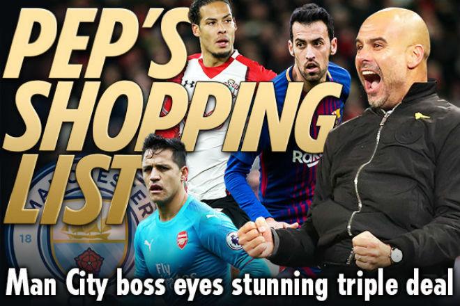 """Man City vô đối: Pep nhận """"doping"""" 160 triệu bảng, Sanchez lương trên trời 1"""