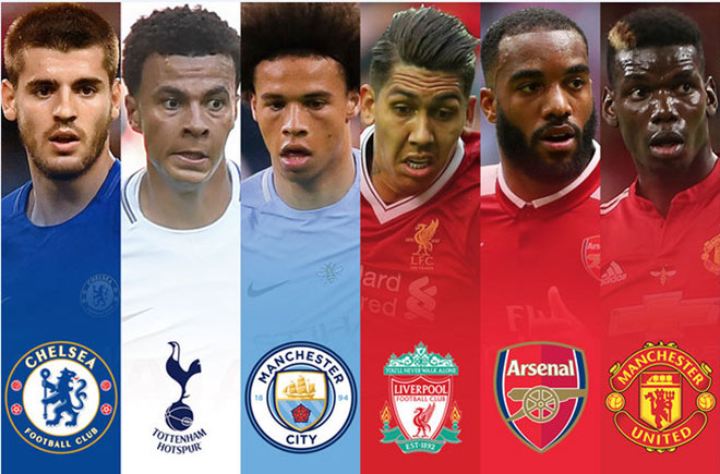 Lịch thi đấu MU, Man City, Arsenal, Chelsea, Tottenham, Liverpool Giáng sinh 2017 1