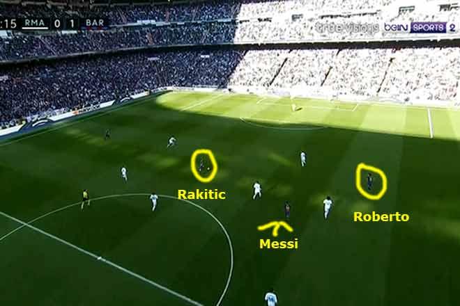 Góc chiến thuật Real Madrid – Barcelona: Messi thiên tài thắng Zidane - 5
