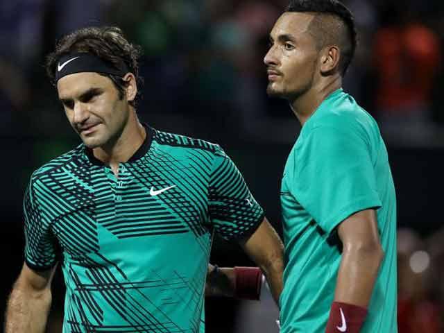 """Federer """"múa dao"""" điệu nghệ, đọ tài với siêu đầu bếp 1"""