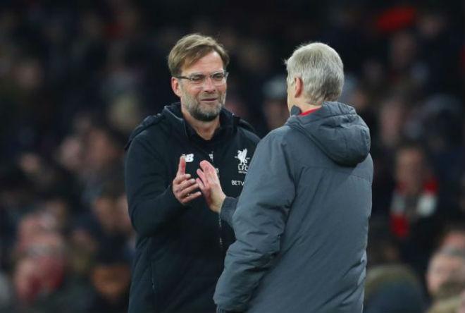 """Arsenal hòa """"điên rồ"""" Liverpool: Wenger lộ thần chú, Klopp hậm hực 2"""