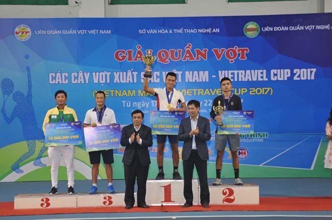 Phạm Minh Tuấn, Tiffany Linh Nguyễn vô địch giải Cây vợt xuất sắc 2017 3