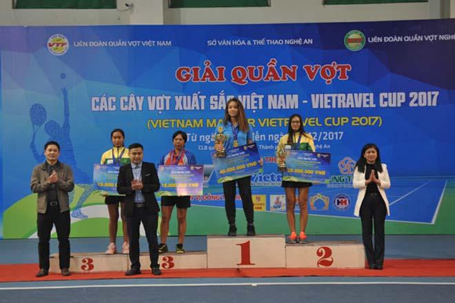 Phạm Minh Tuấn, Tiffany Linh Nguyễn vô địch giải Cây vợt xuất sắc 2017 4