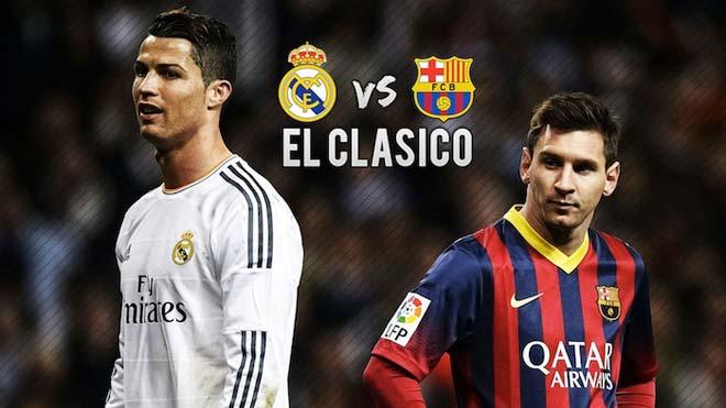 TRỰC TIẾP siêu kinh điển Real Madrid - Barcelona: Ronaldo đá chính đấu Messi 23