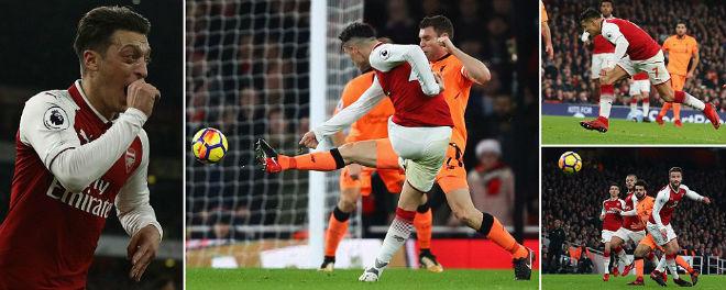 Arsenal - Liverpool: Đại chiến 6 bàn, kịch bản không tưởng 1