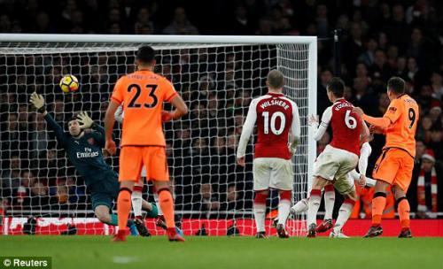 Chi tiết Arsenal - Liverpool: Tấn công đến phút cuối cùng (KT) 29
