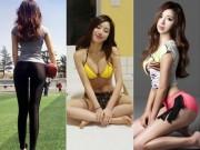 """Thể thao - Sững sờ: """"Cô giáo thể dục"""" số 1 Hàn Quốc, đẹp đến """"nổi da gà"""""""