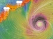 """Tin tức trong ngày - Bản tin bão 18h: Bão """"Trâu Mộng"""" tăng cấp, hướng vào Nam Bộ"""
