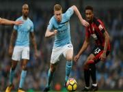 Bóng đá - Chi tiết Man City - Bournemouth: Chiến quả nhẹ nhàng (KT)