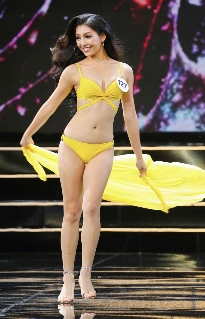 Lý do nữ sinh nhảy bốc lửa gây chú ý lớn ở Hoa hậu Hoàn vũ Việt Nam - 1