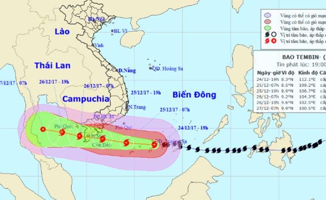Bản tin bão 22h: Bão số 16 hoành hành, quần đảo Trường Sa đang mưa dữ dội