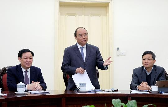 Thủ tướng làm việc với Tổ tư vấn, chuyên gia đề nghị quản lý tiền ảo Bitcoin