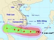 """Tin tức trong ngày - Bản tin bão 15h: Bão số 16 di chuyển """"thần tốc"""", sóng biển cao 10m"""