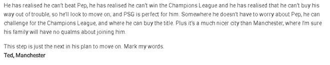 """MU thất thế Man City: Mourinho """"té"""" sang PSG để tránh Pep? 3"""