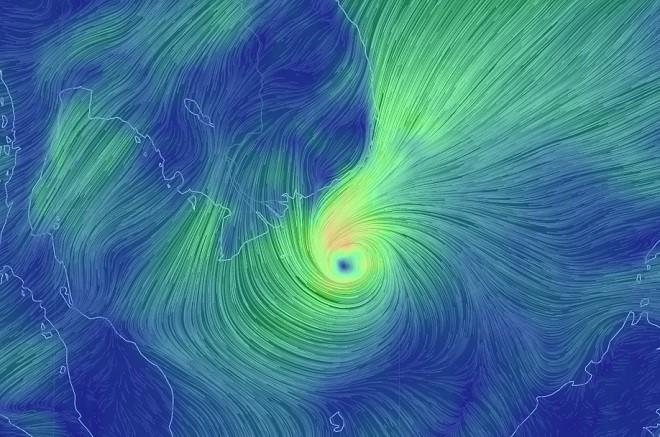 Toàn cảnh bão Tembin đe doạ Nam Bộ ngày 25/12 - 7