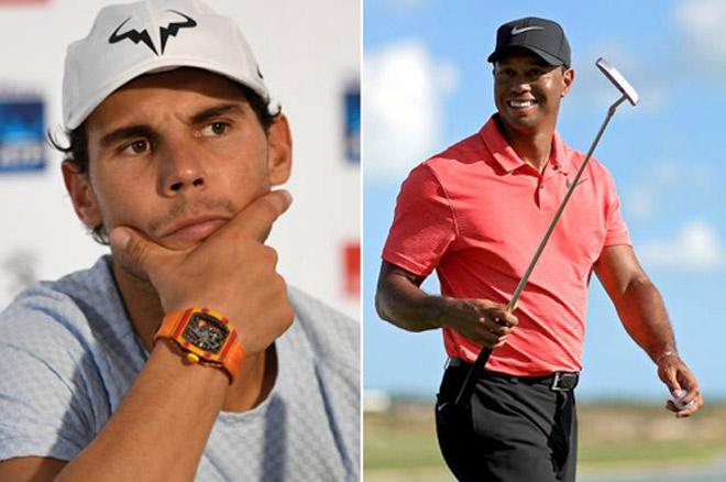 """Golf 24/7: """"Vua tennis"""" Nadal mách bí kíp thần thánh cho Tiger Woods 1"""