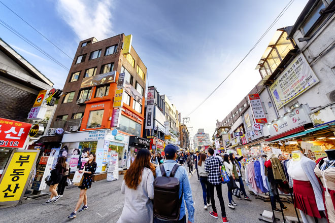 Những con phố nhất định bạn phải đi dạo khi đến Seoul