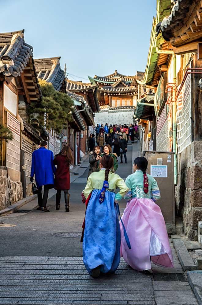 Những con phố nhất định bạn phải đi dạo khi đến Seoul - 4